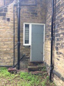 back door fire door