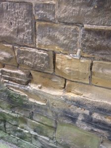 weathered stone