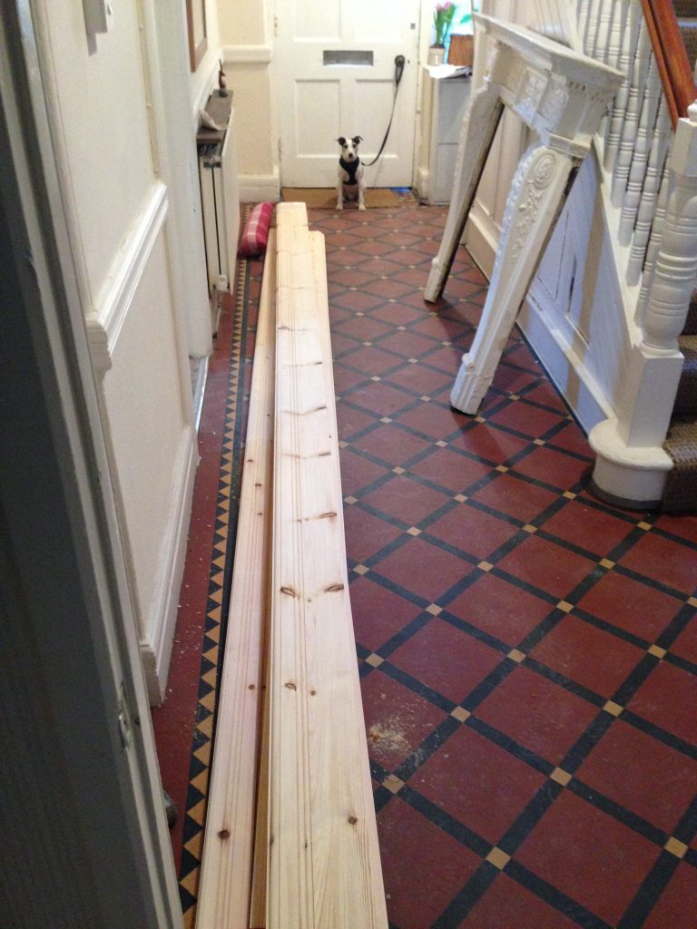 new matched skirting and dado