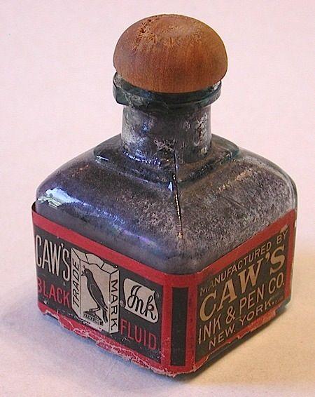 caw ink bottle