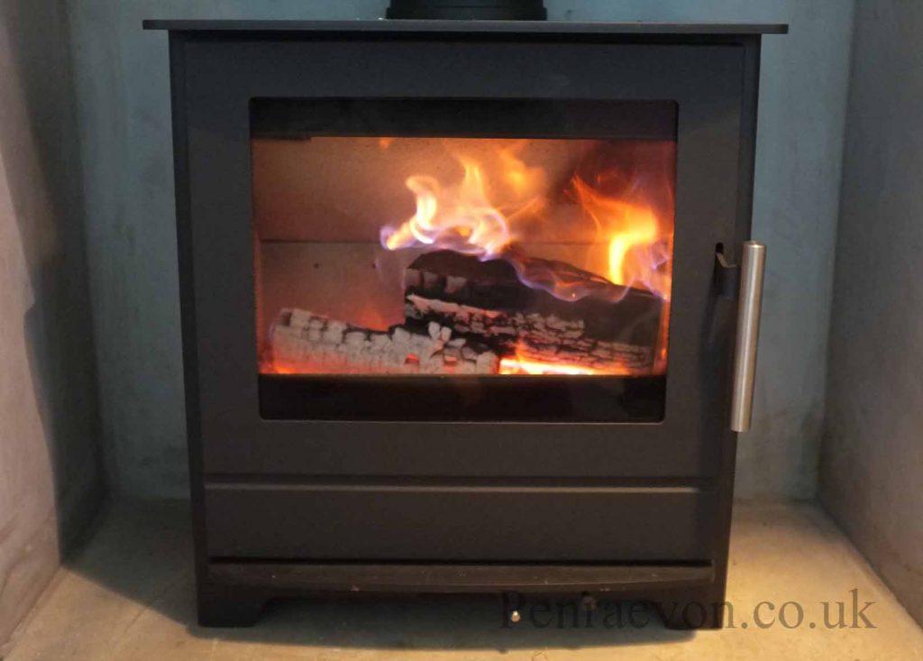 woodburning stove heta 45 inspire