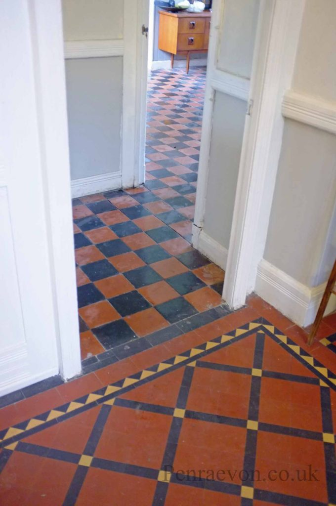 Restoring quarry tiles penraevon for Kitchen quarry tile