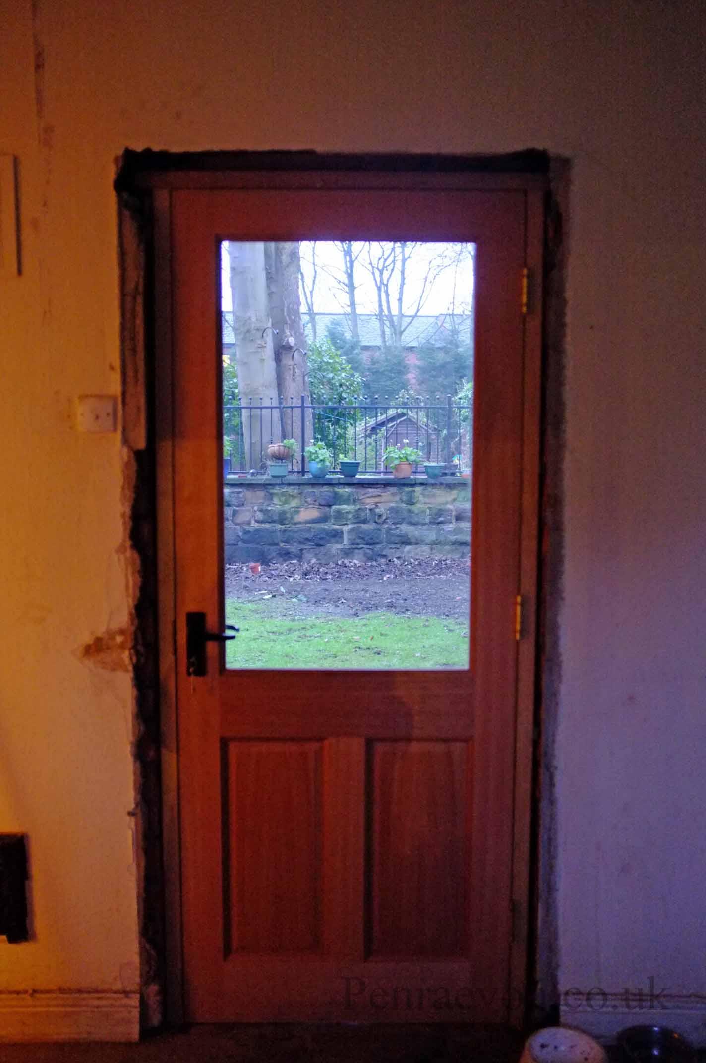 New Door: Putting A New Door In An Old Frame