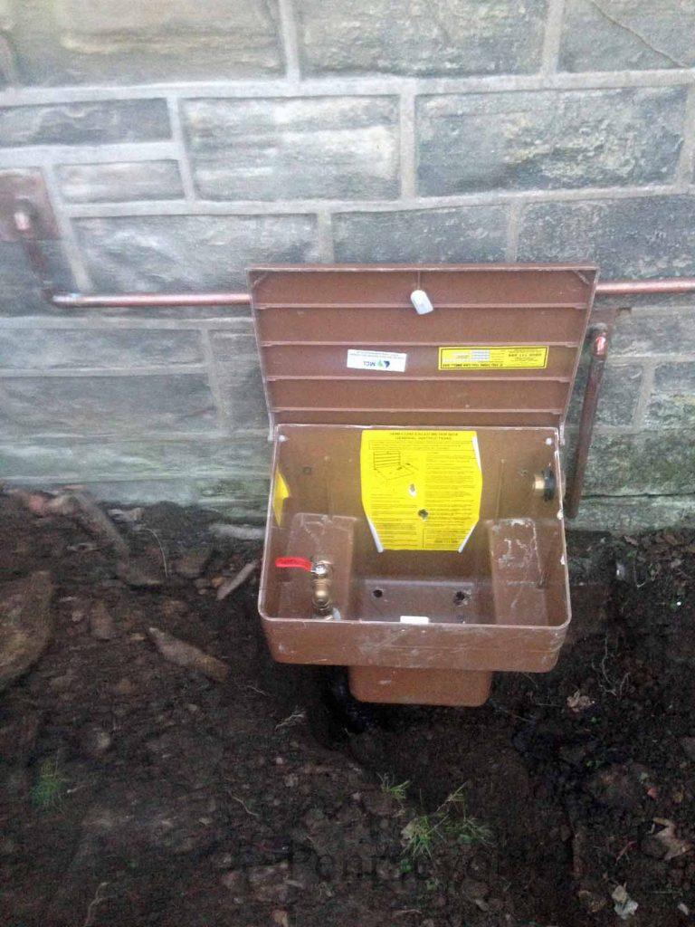 semi concealed meter