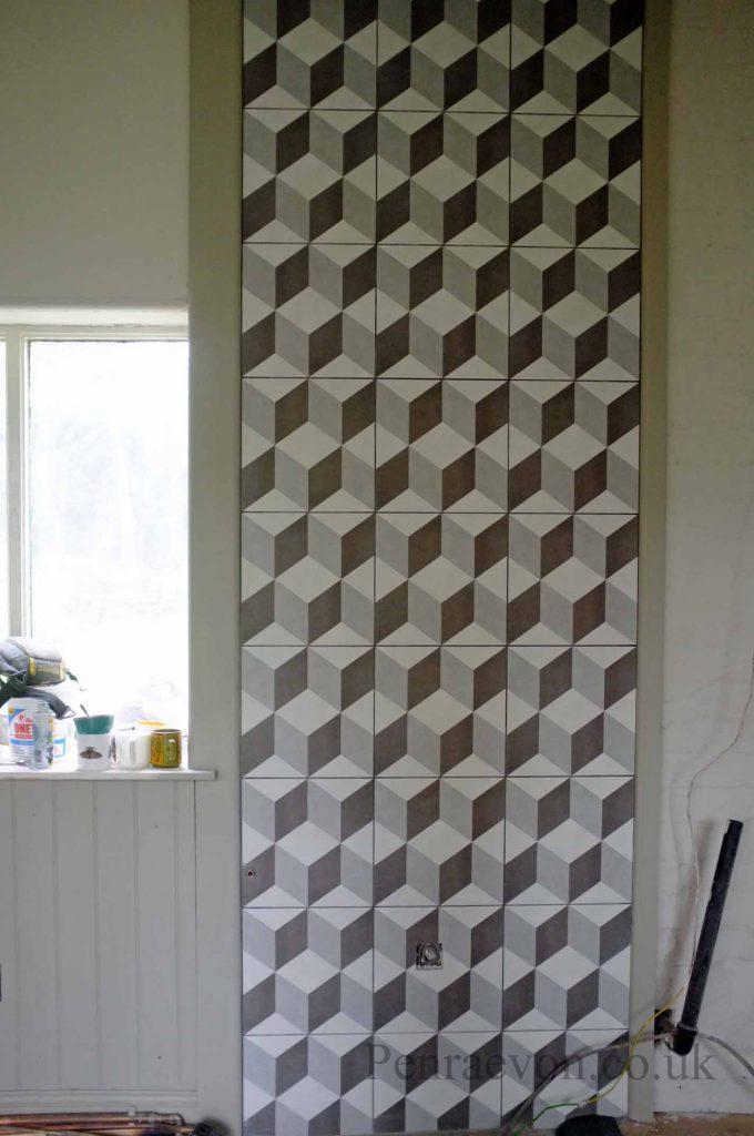 tiled spalshback