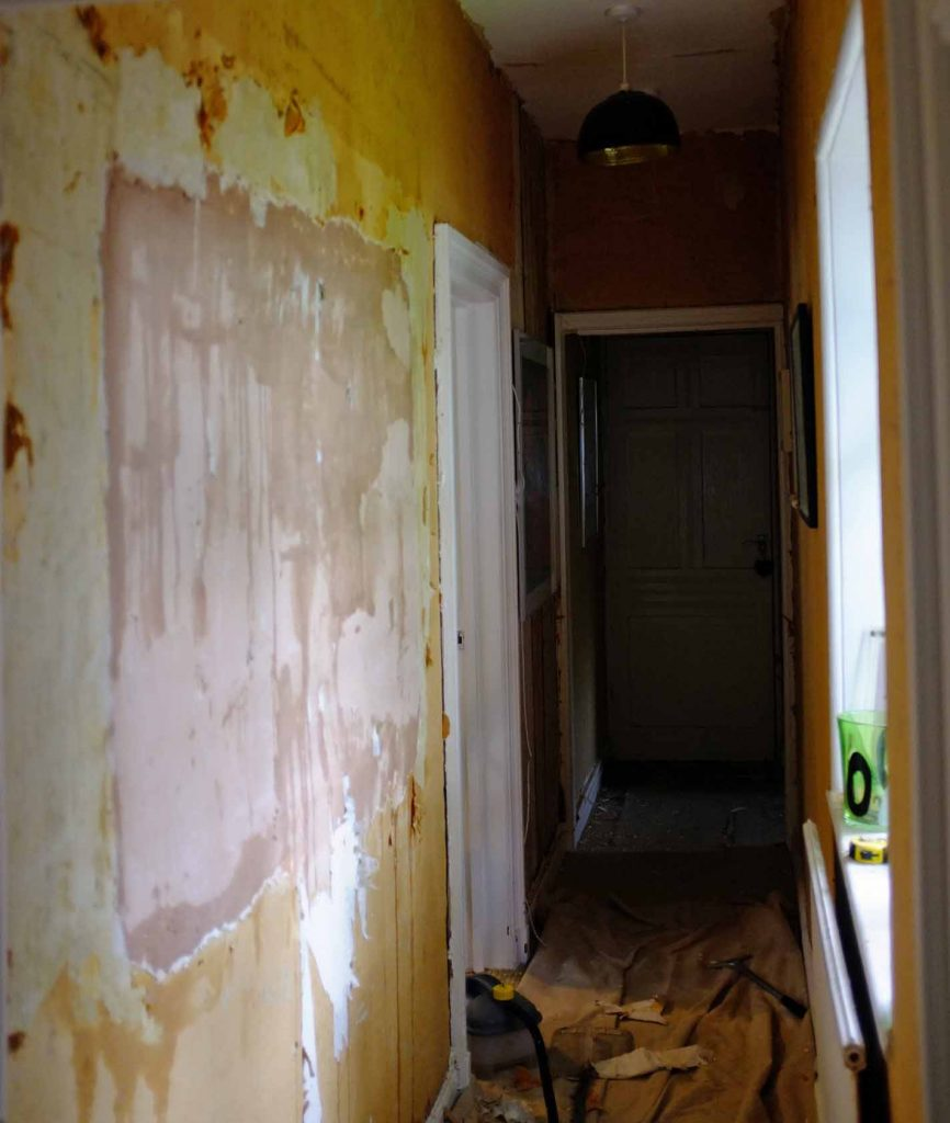 woodchip stripping how to