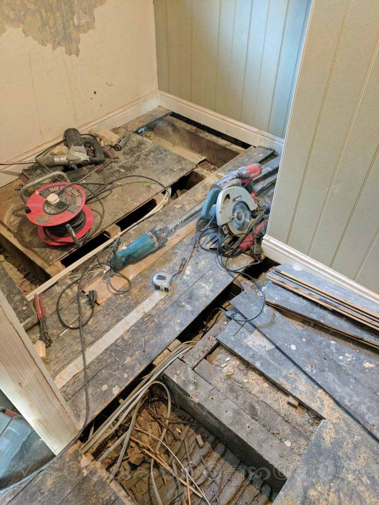 plumbing first fix